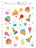 Colorful Birthday ~ Decorative Sampler