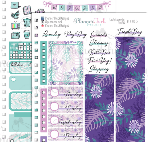 Leafy Lavender ~ Mini Kit