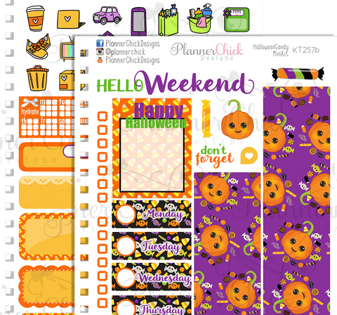 Halloween Candy ~ Mini Kit