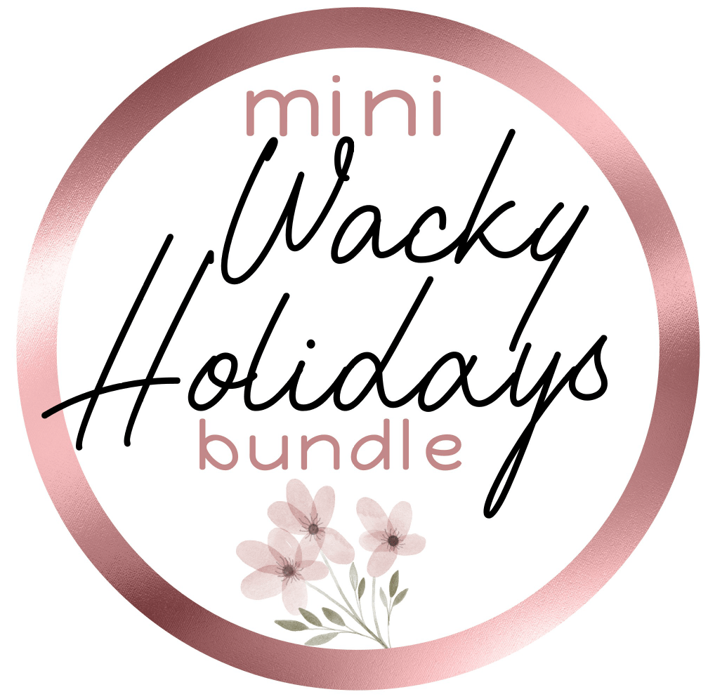 Mini Stickers ~ Wacky Holidays Bundle