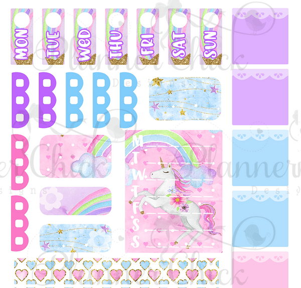 Dreamy Unicorn ~ Kit for Hobo Weeks