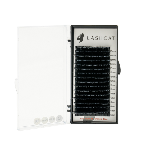 LASH C PLUS+ Curl Eyelash Extensions 0.03 - Lash Cat