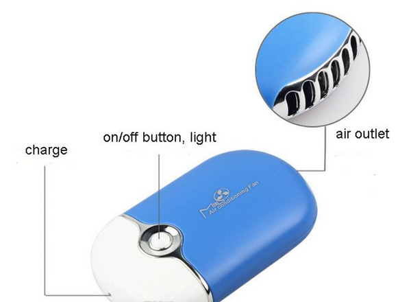 Mini Rechargeable Air Conditioning Fan - Lash Cat