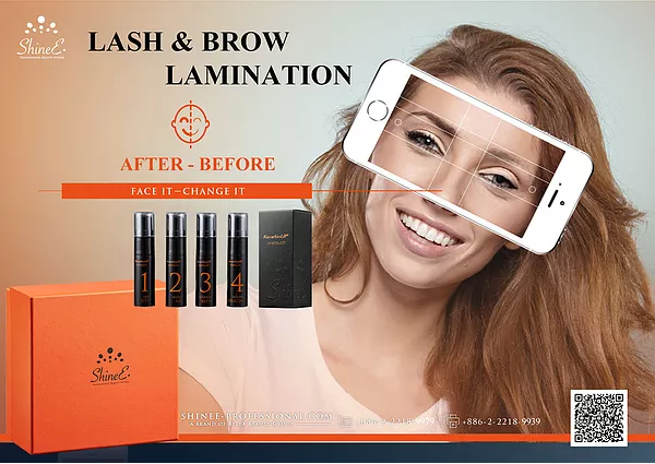 Brow Lamination/Lash Lift ShineE One Touch full kit - Lash Cat