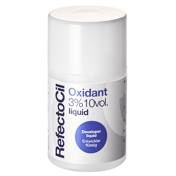 RefectoCil Oxidant 3% (10 Vol) Developer Liquid 100ml - Lash Cat