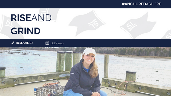 RISE AND GRIND | MAINE LOBSTER FISHING WOMEN