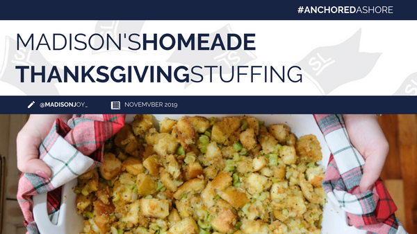 Madison's Homemade Thanksgiving Stuffing
