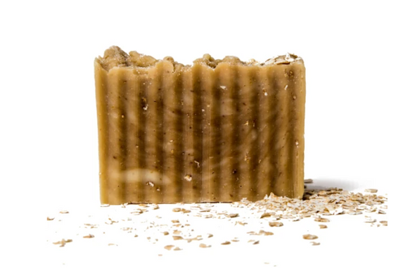 Organic Oatmeal, Goat Milk & Honey Body Soap Bar