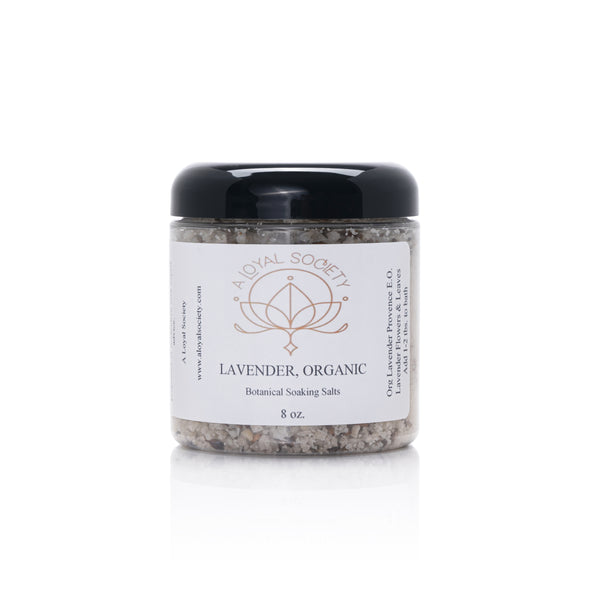 Lavender Botanical Soaking Salts,  8oz