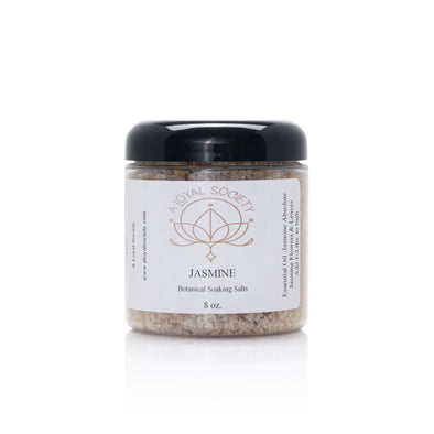 Jasmine Botanical Soaking Salts,  8oz