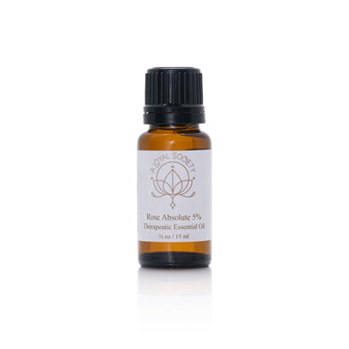 Rose Essential Oil, Organic 15ML, 5% Absolute