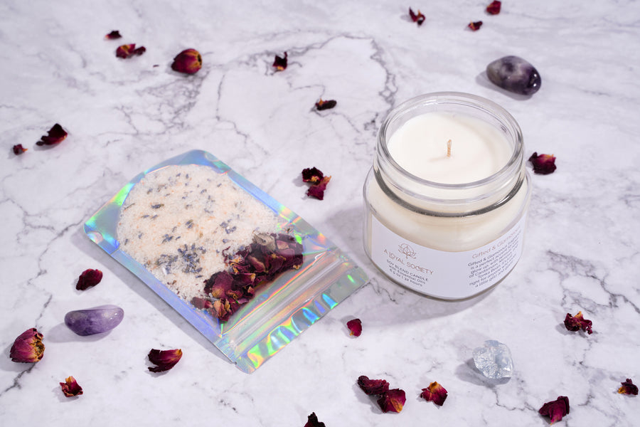 Gifted & Glamorous Relaxation Candle