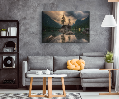 MOUNTAIN RETREAT - CANVAS ART