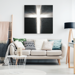 STARLIGHT CROSS - CANVAS ART