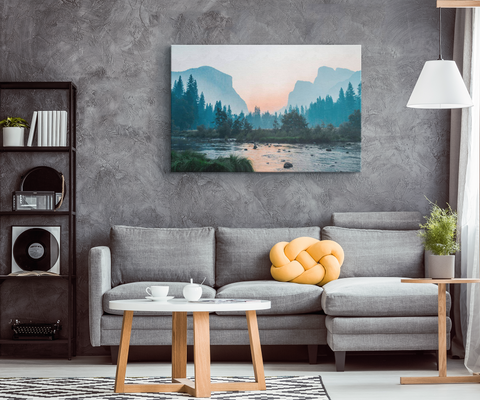 MOUNTAIN ESCAPE - CANVAS ART