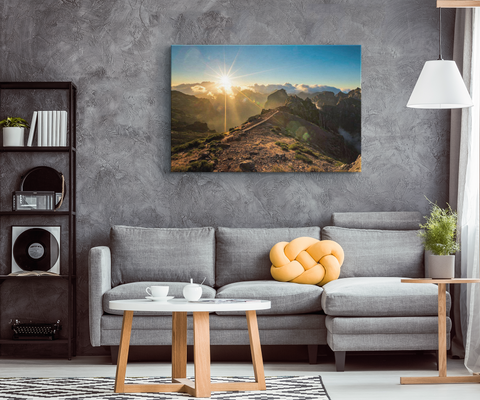MOUNTAIN SUNRISE - CANVAS ART