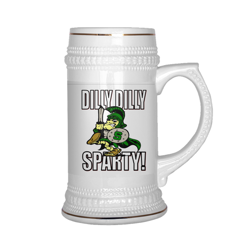 DILLY DILLY SPARTY! PATRIOTIC STEIN