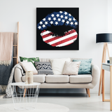 STARRY LIPS - CANVAS ART