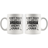 HOCKEY MOM COFFEE MUG