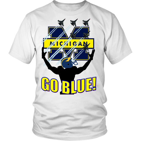 GO BLUE! - READY FOR TAKE OFF