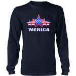 'MERICA 5 STAR PATRIOTIC FLAG - MENS COLLECTION