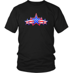 5 STAR PATRIOTIC FLAG - MENS COLLECTION