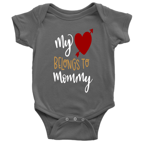 MY HEART BELONGS TO MOMMY