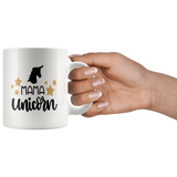 MAMA UNICORN COFFEE MUG