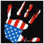 PATRIOTIC HAND ART - CANVAS ART