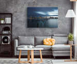 CALM SKYLINE - CANVAS ART