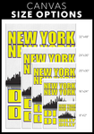 "NEW YORK NEW YORK DILLY DILLY - ""CUSTOM"" CANVAS ART"