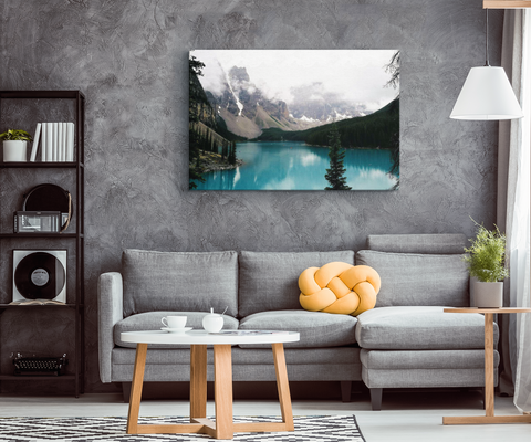 MAJESTIC MOUNTAIN RETREAT - CANVAS ART