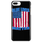 "BLUE LIVES MATTER ""CUSTOM "" PHONE CASE"