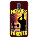 "HEROES FOREVER 'CUSTOMIZED"" PHONE CASES"
