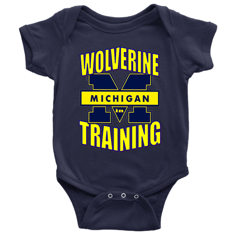 WOLVERINE in TRAINING Baby Bodysuit