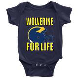 WOLVERINE FOR LIFE - Baby Bodysuit