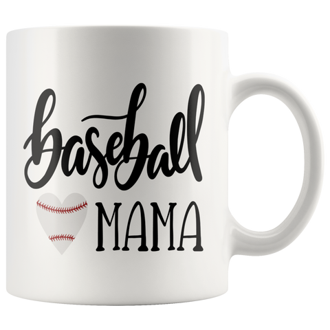 BASEBALL MAMA COFFEE MUG