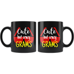 cute but crazy GRAMS COFFEE MUG
