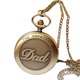 "Vintage ""The Greatest DAD"" Pocket Watch"