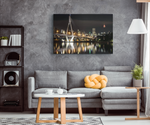 BRIDGE TO CITY - CANVAS ART