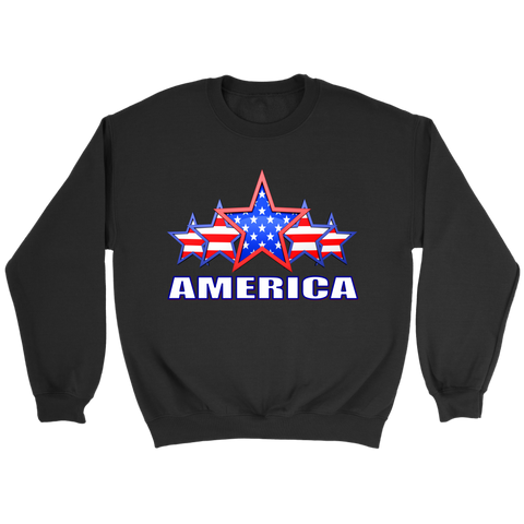 "AMERICA ""5 STAR"" PATRIOTIC FLAG - MENS COLLECTION"