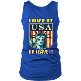 USA LOVE IT OR LEAVE IT  WOMENS TANK TOP