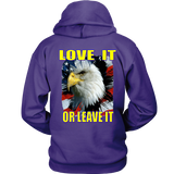 USA - LOVE IT OR LEAVE IT  HOODIE