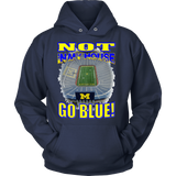 NOT IN MY HOUSE - GO BLUE! (FRONT)