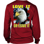 USA - LOVE IT OR LEAVE IT  MENS LONG SLEEVE