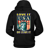 USA LOVE IT OR LEAVE IT - HOODIE