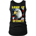 USA - LOVE IT OR LEAVE IT  WOMENS TANK TOP