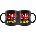 cute but crazy GRANDMA COFFEE MUG