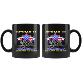 "Apollo 11 ""50th Anniversary"" Moon Landing Coffee Mug"
