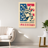 LADY LIBERTY - CANVAS ART